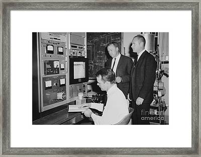 Geomagnetism Research, 1965 Framed Print by Library Of Congress