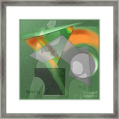 Geometrca 240 Framed Print by Nedunseralathan R