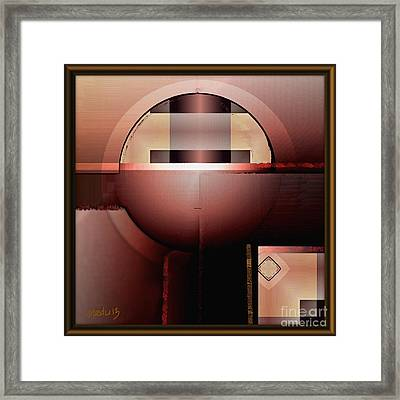 Geometric 191 Framed Print by Nedunseralathan R