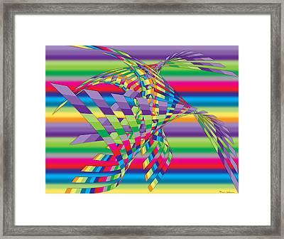 Geometric 3 Framed Print