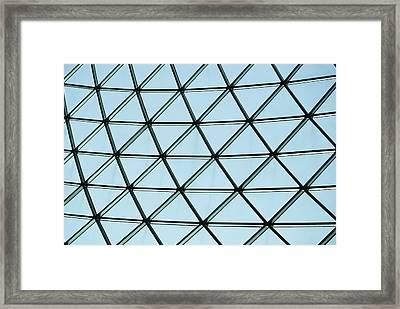Geometric Charm Framed Print by Christi Kraft