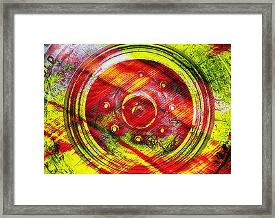 Geometric Colors  Framed Print