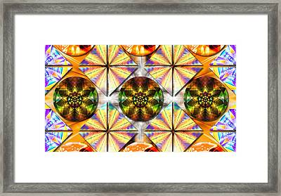 Geometric Dreamland Framed Print
