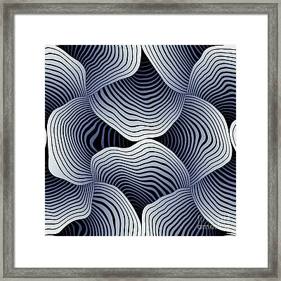 Geometric Gymnastic - S01-02a Framed Print by Variance Collections