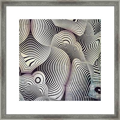 Geometric Gymnastic - S06-01ct01b Framed Print by Variance Collections