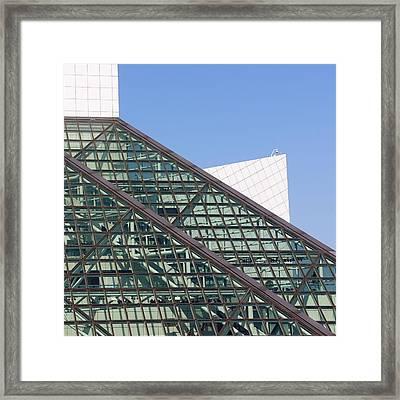 Geometric Framed Print by Jenny Hudson