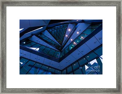 Geometric Lines And The Jobsworths Framed Print by Pete Reynolds
