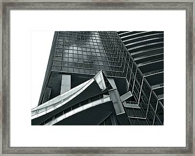 Framed Print featuring the photograph Geometric by Lorenzo Cassina