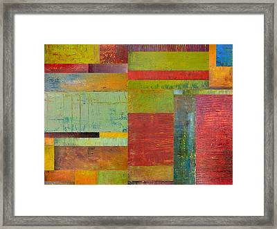 Geometric Study 1.0 Framed Print by Michelle Calkins