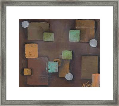 'geometric' Framed Print