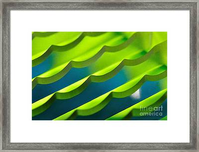 Geometrical Colors And Shapes 3 Framed Print