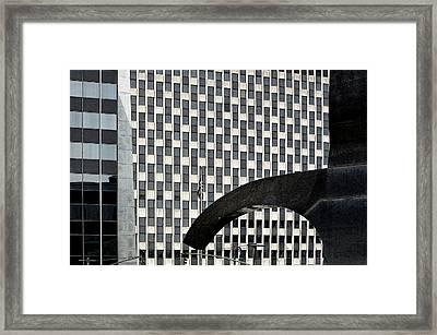 Geometry 101 Framed Print by Joanna Madloch