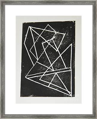 Geometry Framed Print by Christiane Schulze Art And Photography