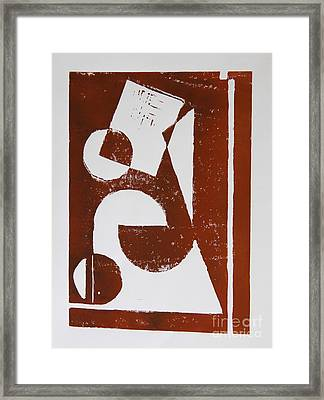 Geometry II Framed Print