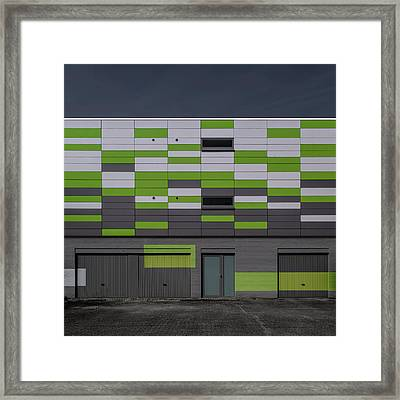 Geometry Framed Print by Luc Vangindertael