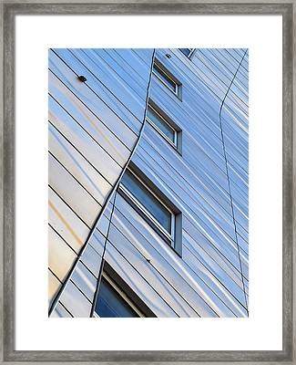 Geometry Framed Print by Yue Wang