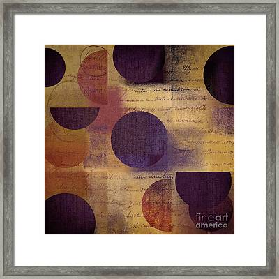 Geomix 01 - 122129082 Framed Print by Variance Collections