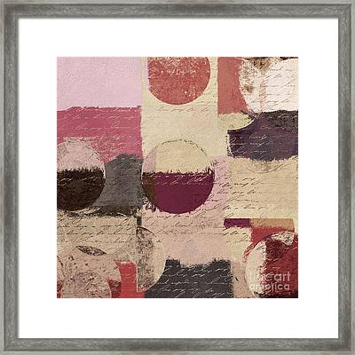 Geomix 01 - C19a2sp5ct1a Framed Print