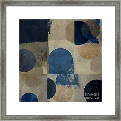 Geomix 01 - S111d-t02c Framed Print by Variance Collections