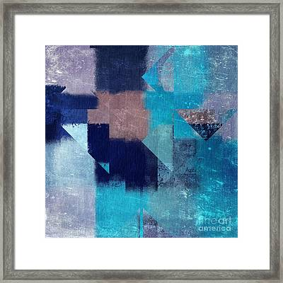 Geomix 04 -05ac9t28a Framed Print by Variance Collections