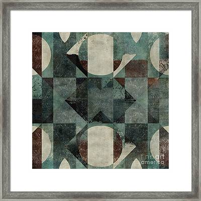 Geomix 04 -39c8at2d Framed Print by Variance Collections