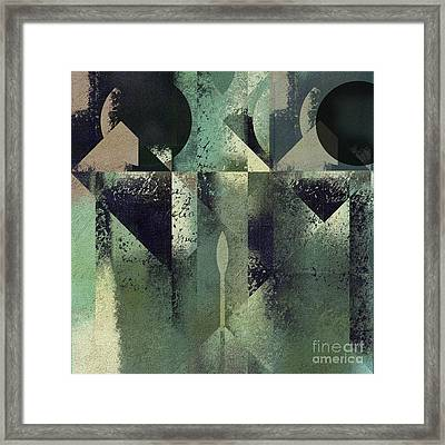 Geomix 04 - 56at22b2e Framed Print by Variance Collections