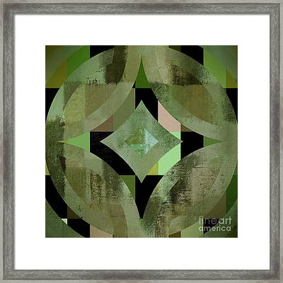 Geomix 12 - 01gbl3j4994100 Framed Print by Variance Collections