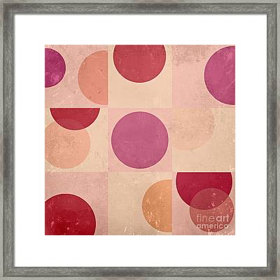 Geomix - C07atdb Framed Print by Variance Collections