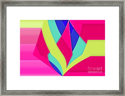 Geomox - 05bc02 Framed Print by Variance Collections