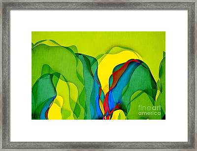 Geomox - 0801t01 Framed Print by Variance Collections