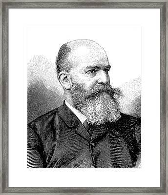 Georg Ebers Framed Print by Bildagentur-online/tschanz