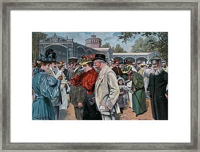 Georg-viktor Quelle Framed Print