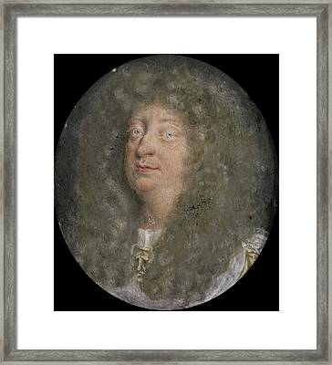 Georg Wilhelm, 1625-1705, Duke Of Brunswick-luneburg Framed Print by Litz Collection