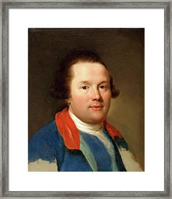 George, 3rd Earl Cowper 1738-1789, Anton Raphael Mengs Framed Print