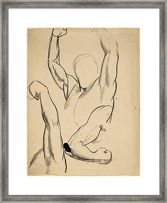 George Bellows, Arms Of A Boxer, American Framed Print