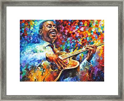Wes Montgomery Framed Print