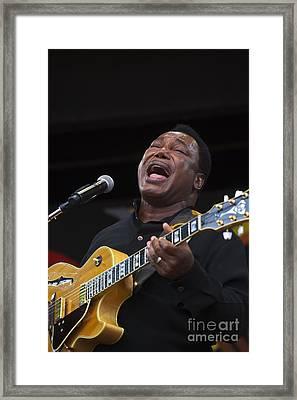 George Benson Sings Framed Print