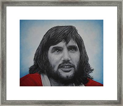 George Best 'belfast Boy' Framed Print