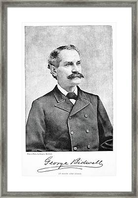 George Bidwell (1837-1899) Framed Print by Granger