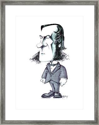 George Boole Framed Print