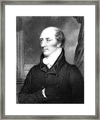 George Canning Framed Print by Collection Abecasis