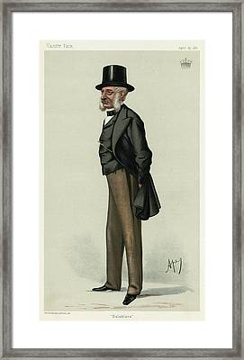 George Charles Bingham 3rd Earl Framed Print by Mary Evans Picture Library