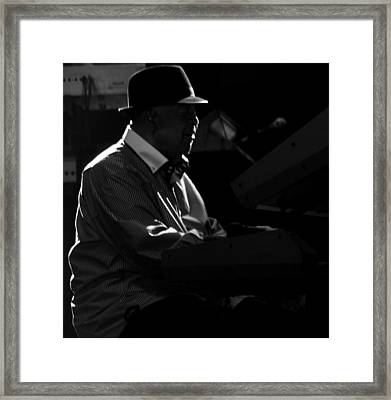 George Duke Framed Print by Achmad Bachtiar