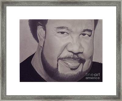 George Duke Framed Print