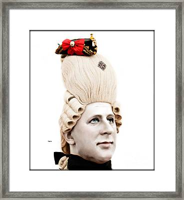 George During His Pretty Days  Framed Print by Steven Digman