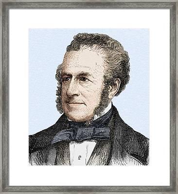 George Elkington Framed Print by Sheila Terry