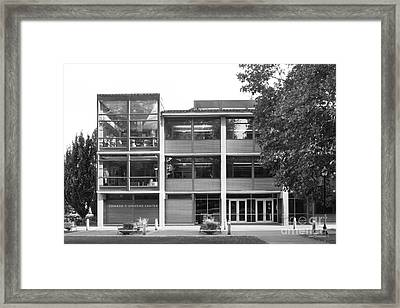 George Fox University Edward Stevens Center Framed Print by University Icons
