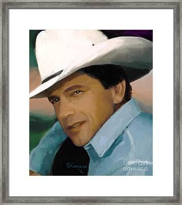 George Framed Print by GCannon