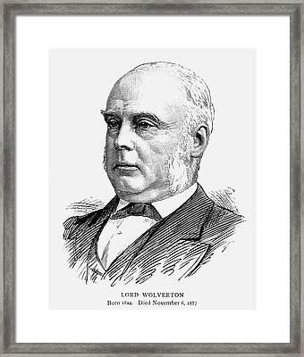 George Glyn (1824-1887) Framed Print