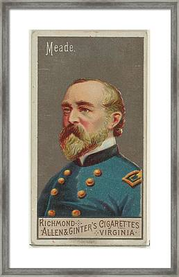 George Gordon Meade, From The Great Framed Print by Allen & Ginter